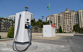 """Azpetrol"" company which has a large network of petrol filling stations in our Republic leads in the charging of electromobiles."