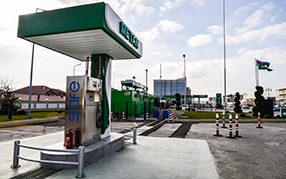 "The sale of CNG has begun at the ""Azpetrol""`s ""Babek"" gas station."