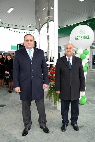 """Azpetrol"" opened a new, second petrol station in Salyan"