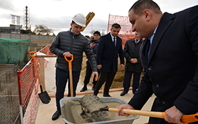 Solemn foundation stone laying ceremony took place