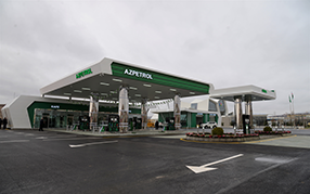 Azpetrol company has opened its new gas station in Shemakha city