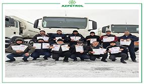 """""""Azpetrol"""" şirkətinin 15 əməkdaşı Fəxri Fərmanla təltif edilibdir"""